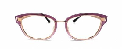 Monture légère Glossi – Violet dégradé et or rose