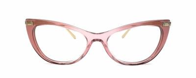 Monture œil-de-chat Dolce & Gabbana - Rose transparent