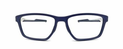 Monture rectangle Oakley – Homme - Bleu et argent