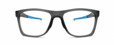 Monture carrée Oakley – Homme – Fini mat avec logo bleu