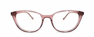 Monture ovale Liu Jo – Rose transparent