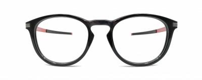Monture ronde Oakley – Homme – Gris et rouge