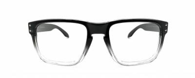 Monture carrée Oakley - Homme - Plastique dégradé noir à transparent