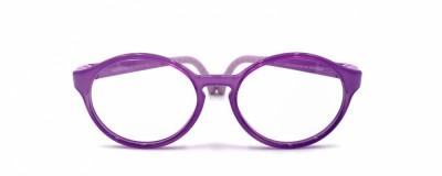Monture ronde Nano violet – Enfant - Ultra résistante
