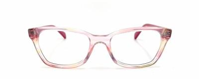 Monture pointue Ray Ban – Enfant - Rose transparent