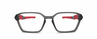 Monture hexagonale Oakley – Enfant - Gris et rouge