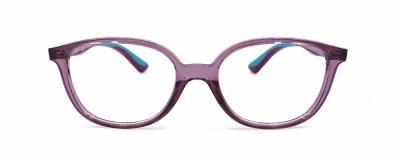 Monture ovale Ray Ban – Enfant - Violet transparent