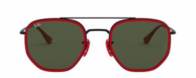 Monture Ray Ban Scuderia Ferrari – Homme – Rouge et double pont