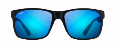 Monture rectangle Maui Jim – Homme - Effet miroir bleu
