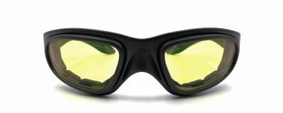 Lunettes de moto Wiley X - Unisexe - Lentilles teintées jaunes