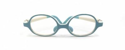 Monture ronde Nano bleu poudre - Bébé - Ultra résistante