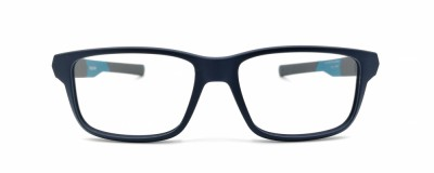 Monture rectangle Oakley - Enfant - Plastique bleu fini mat