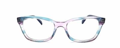 Monture pointue Ray Ban – Enfant - Bleu et violet transparent